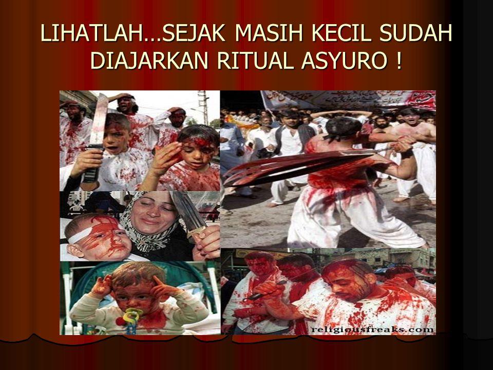 LIHATLAH…SEJAK MASIH KECIL SUDAH DIAJARKAN RITUAL ASYURO !