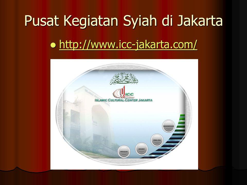 Pusat Kegiatan Syiah di Jakarta http://www.icc-jakarta.com/ http://www.icc-jakarta.com/ http://www.icc-jakarta.com/