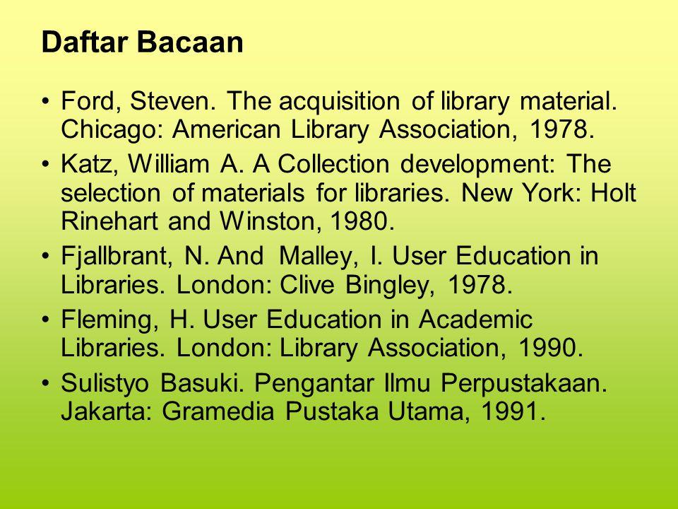 Daftar Bacaan Benge, E.J.Pokok-pokok Manajemen Modern (Seri Manajemen No.