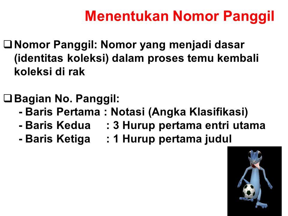 PENAMBAHAN SUBDIVISI WILAYAH CONTOH : PSIKOLOGI ANAK DI INDONESIA : PEMBENTUKAN NOMOR KLASNYA ADALAH SBB. : PSIKOLOGI ANAK: 155.4 PERLAKUAN SEJARA DAN