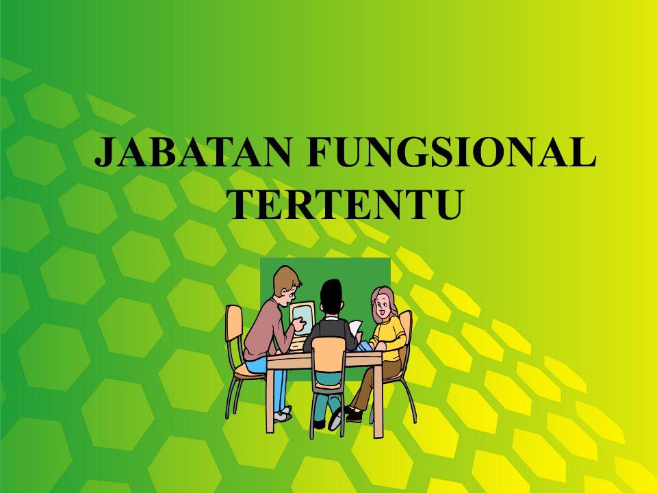 JABATAN FUNGSIONAL TERTENTU