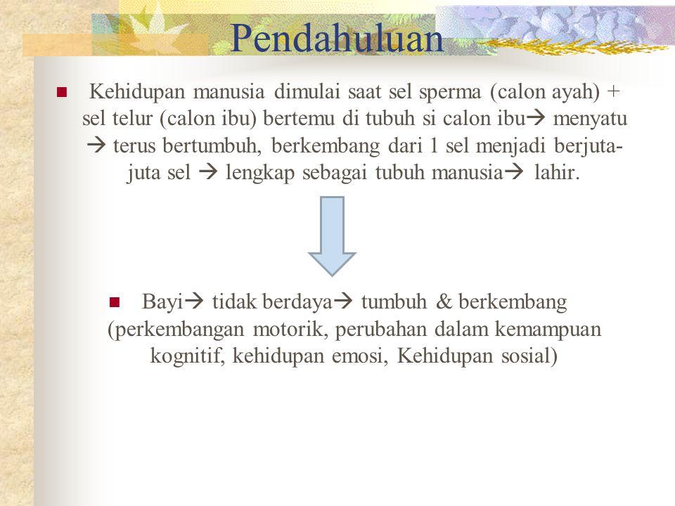 b.Faktor postnatal 1.
