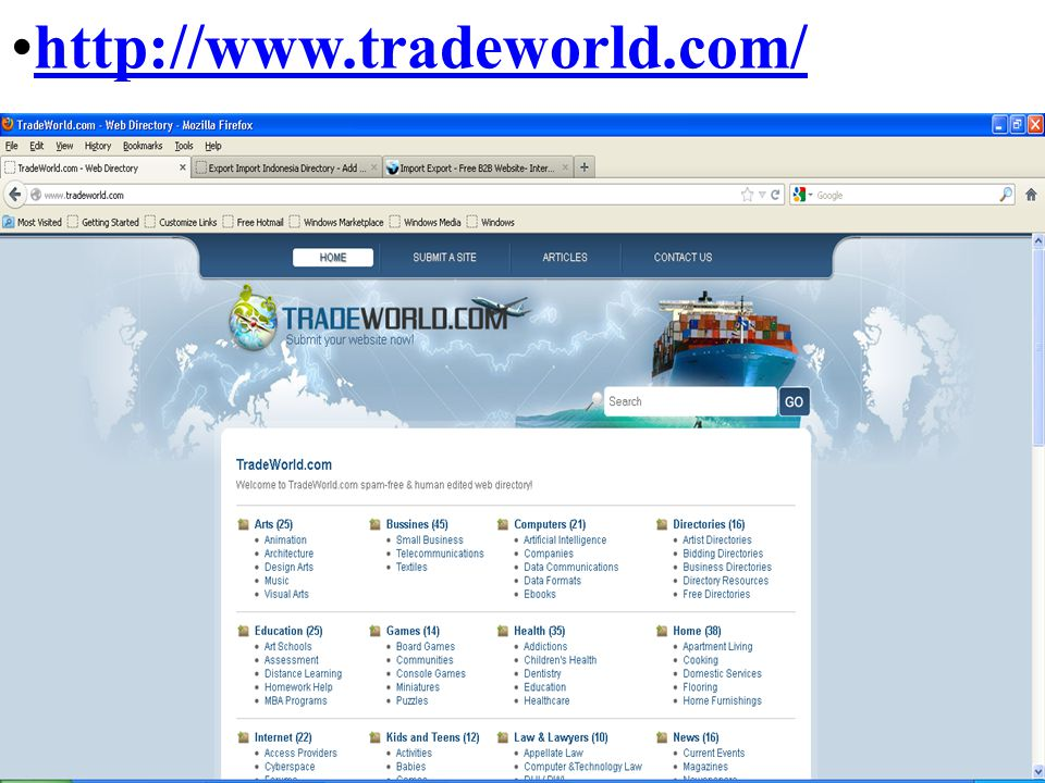 http://www.tradeworld.com/