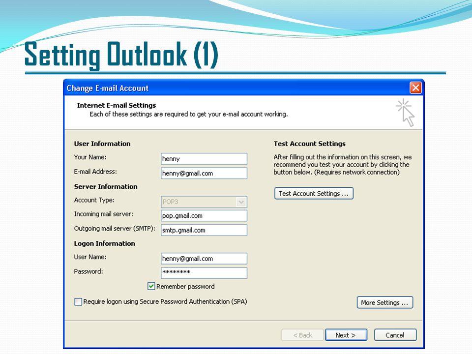 Setting Outlook (1)