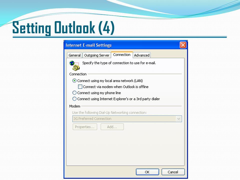 Setting Outlook (4)