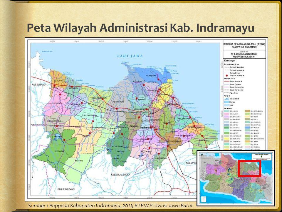 Peta Wilayah Administrasi Kab.