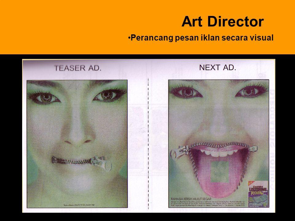 9 Art Director Perancang pesan iklan secara visual