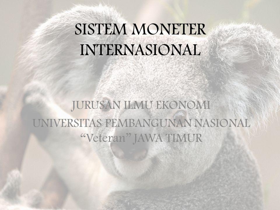 SISTEM KURS MENGAMBANG TERKENDALI  Nilai tukar rupiah diambangkan terhadap sekeranjang mata uang (basket of currencies) negara-negara mitra dagang utama Indonesia.