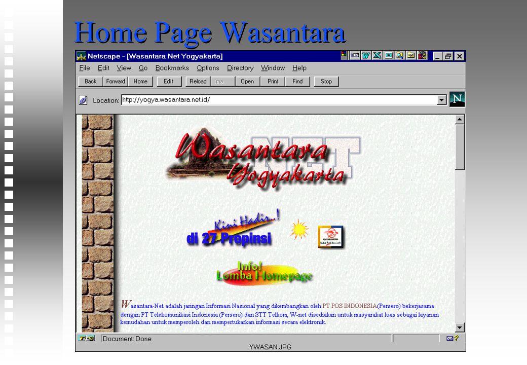 Home Page Wasantara