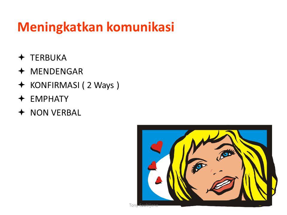 15 Mengapa komunikasi sulit ? Karena: - Beda latar belakang - Beda tingkat pendidikan - Beda pengalaman / paradigma - Beda pekerjaan, kebutuhan - Beda