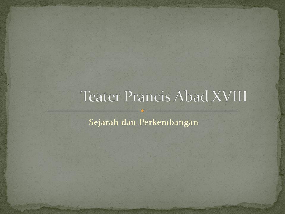 Teater: le Fils Naturel (1757) le Père de famille (1758) Karya terbesar Diderot: