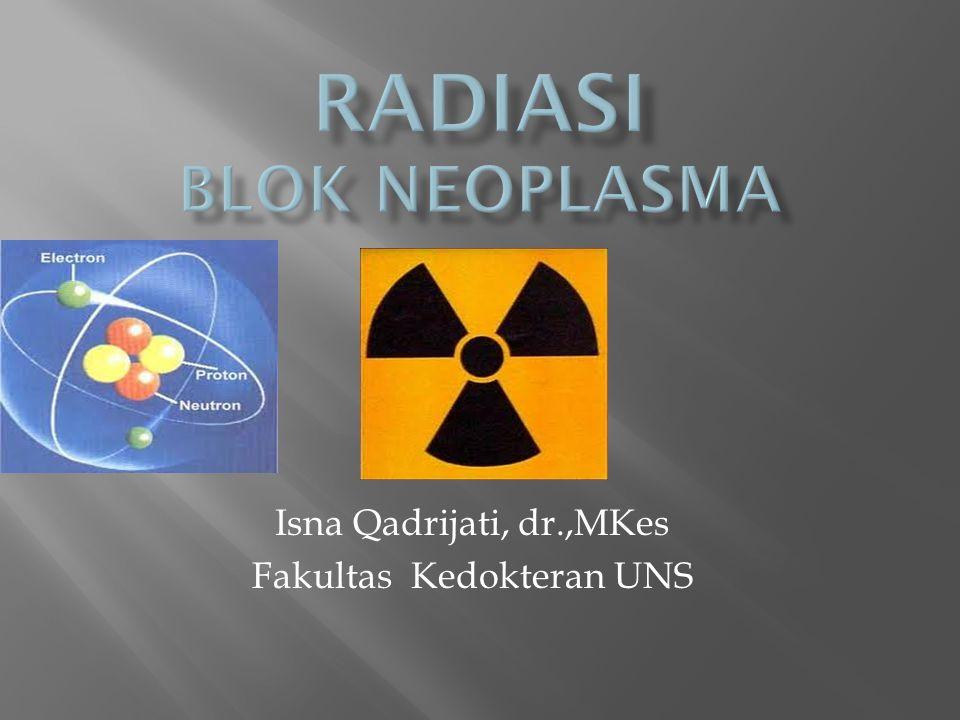 1.Pengertian Radiasi 2.Radiodiagnostik 3.Radioterapi 4.Proteksi Radiasi
