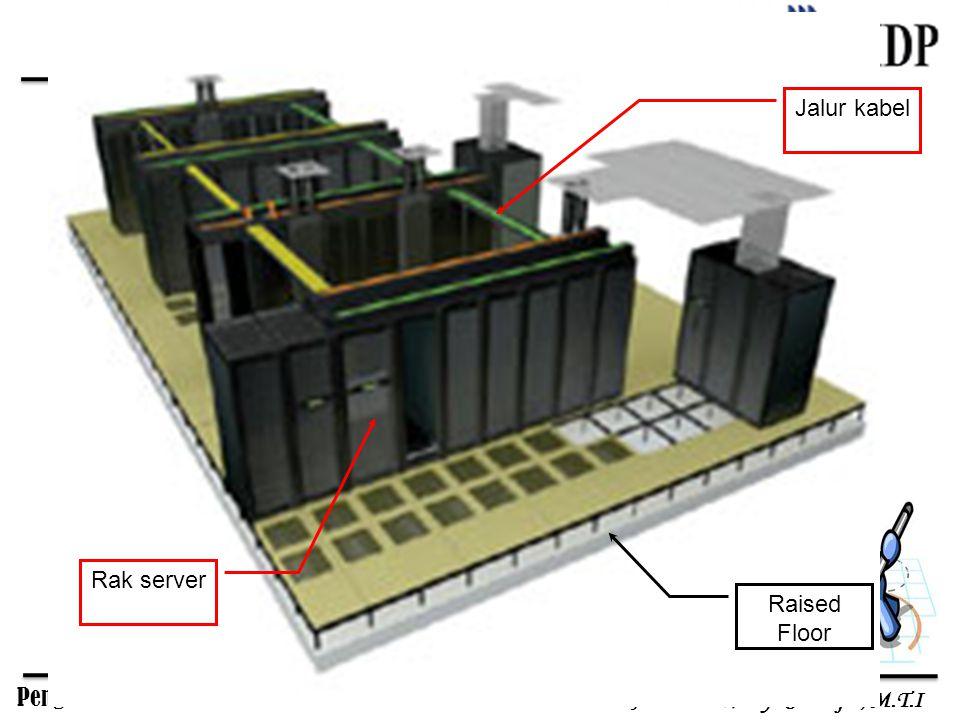 Pengelolaan Sistem Informasi Antonius Wahyu Sudrajat, M.T.I Raised Floor Jalur kabel Rak server