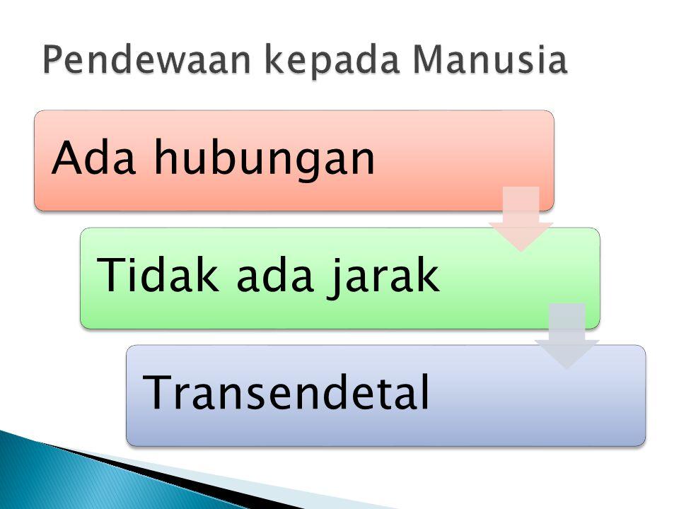 Ada hubunganTidak ada jarakTransendetal