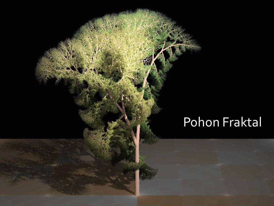 Geometri Fraktal Pohon Fraktal