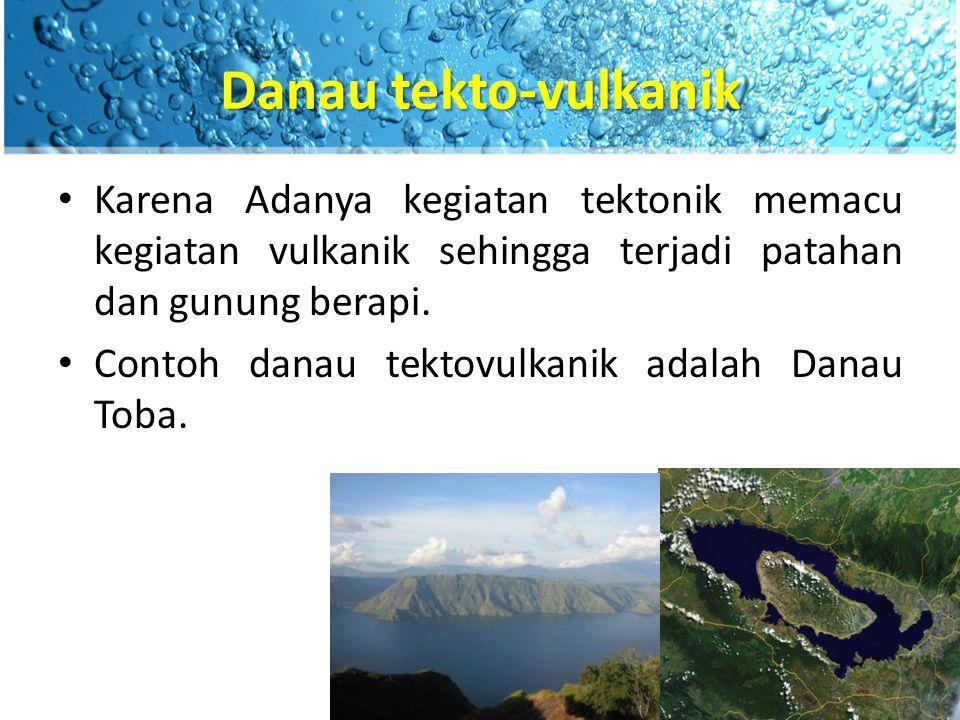 Danau karst Danau karst terbentuk akibat adanya proses solusi atau pelarutan kapur oleh air sehingga terbentuk suatu dolina/dolin.