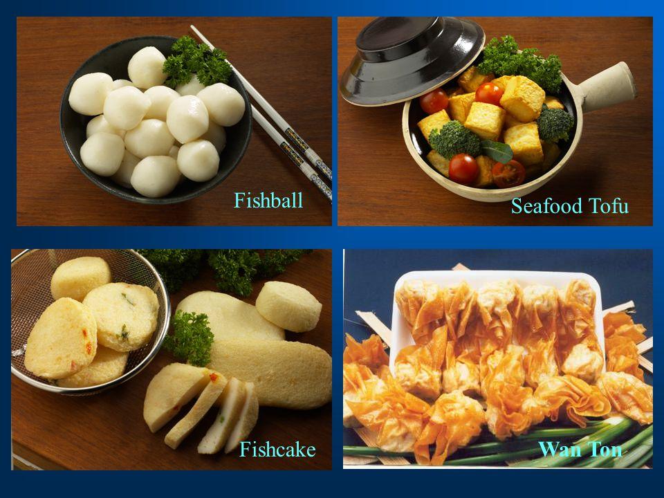 Fishcake Fishball Seafood Tofu Wan Ton