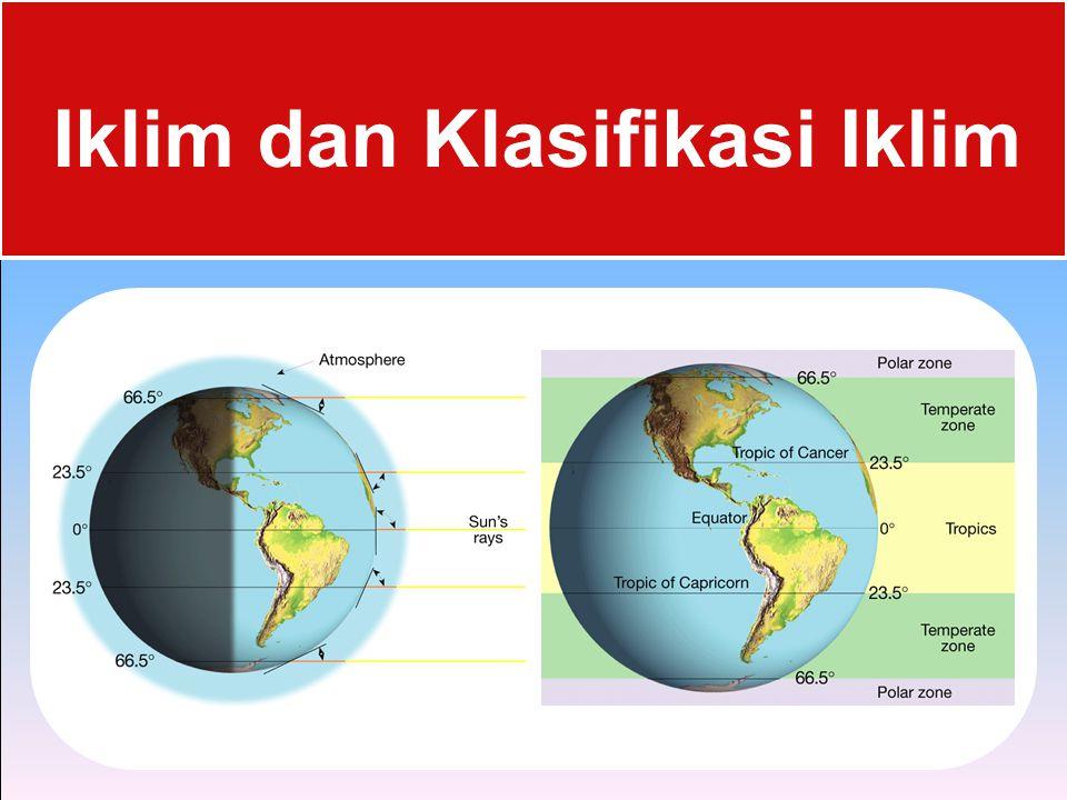 Iklim dan Klasifikasi Iklim