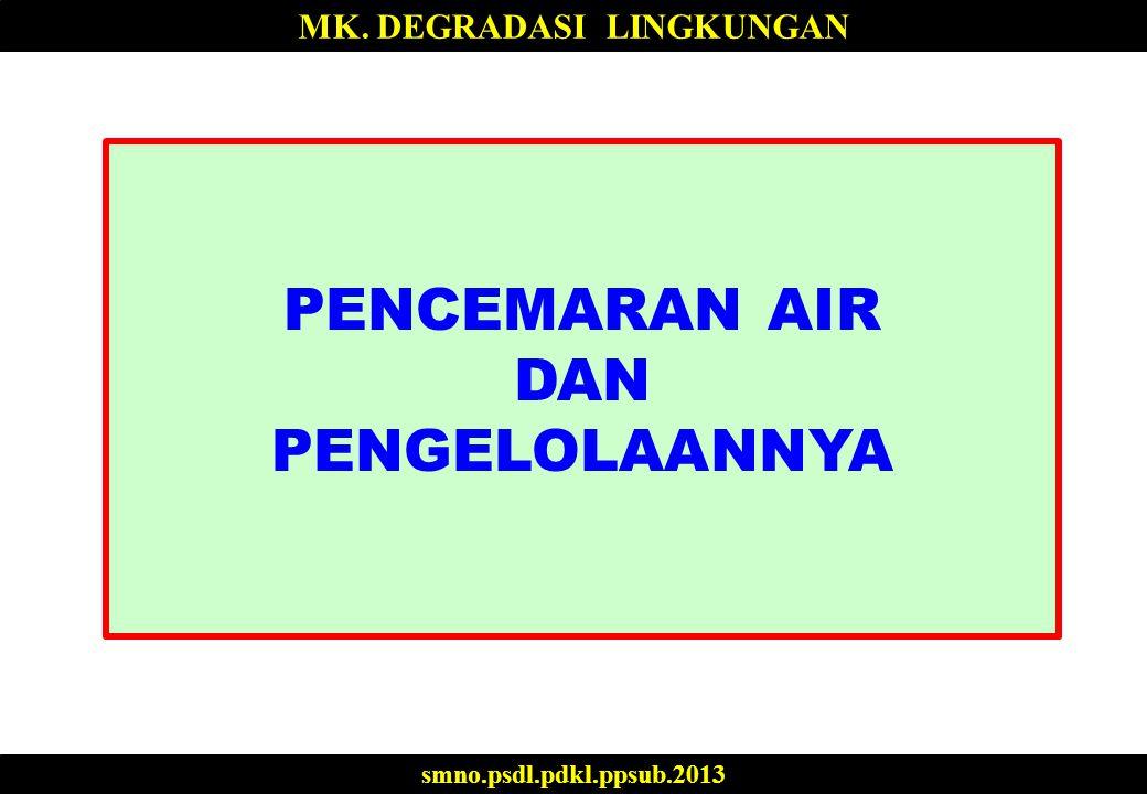 TEKNOLOGI PENGENDALIAN PENCEMARAN AIR: BOD BOD didefinisikan sebagai jumlah oksigen (mg/l) yang diperlukan oleh bakteri untuk mendekomposisikan bahan organik (hingga stabil) pada kondisi aerobik.