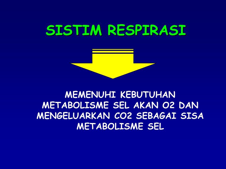 MENINGKATKAN VOLUME ALVEOLUS +2 0 +1 0 0 A B C PEEP (Positive End Expiratory Pressure)