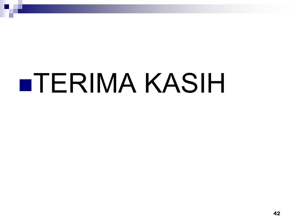 TERIMA KASIH 42