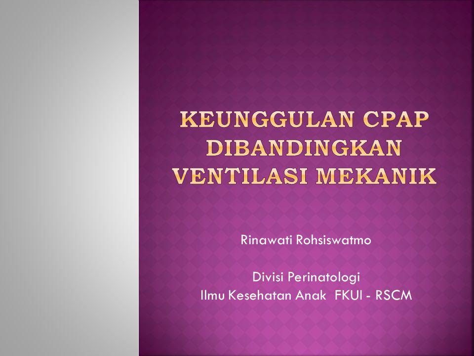 Rinawati Rohsiswatmo Divisi Perinatologi Ilmu Kesehatan Anak FKUI - RSCM