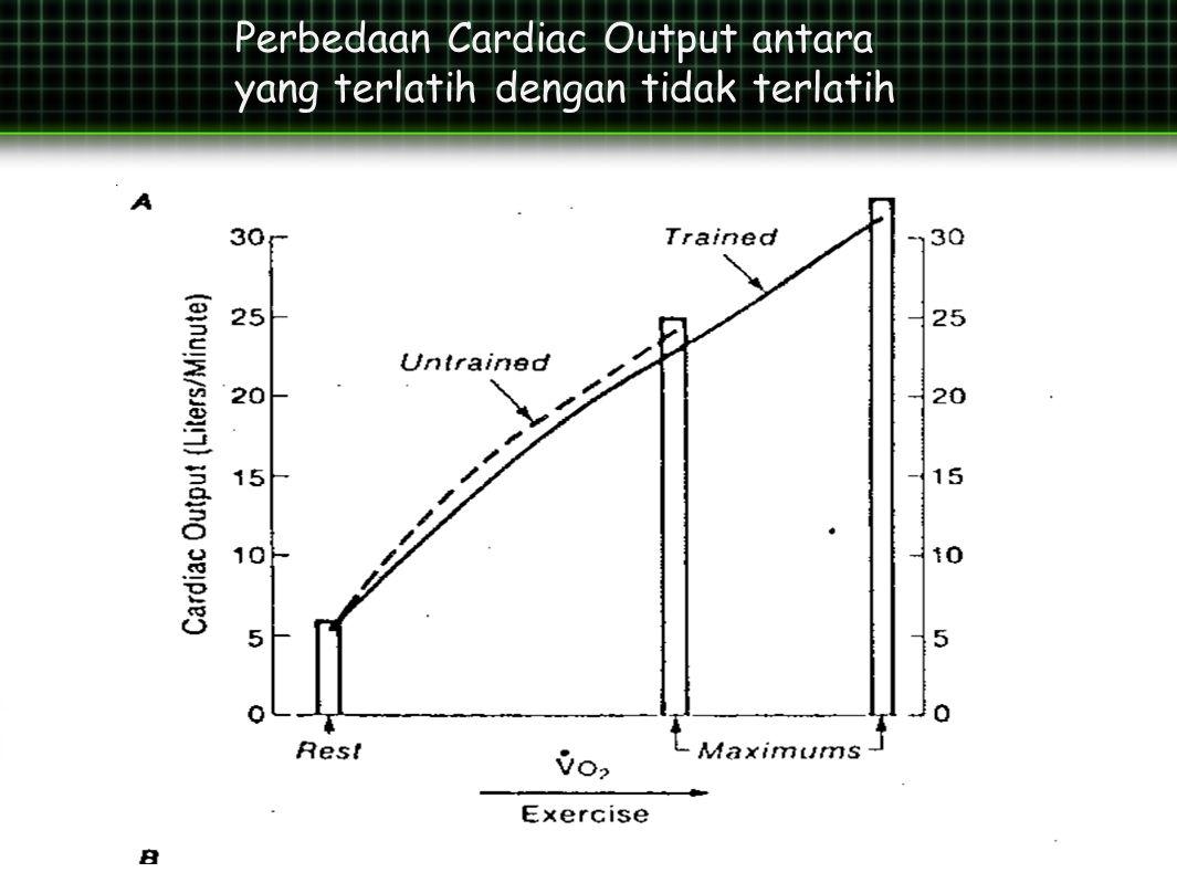 Perbedaan Cardiac Output antara yang terlatih dengan tidak terlatih