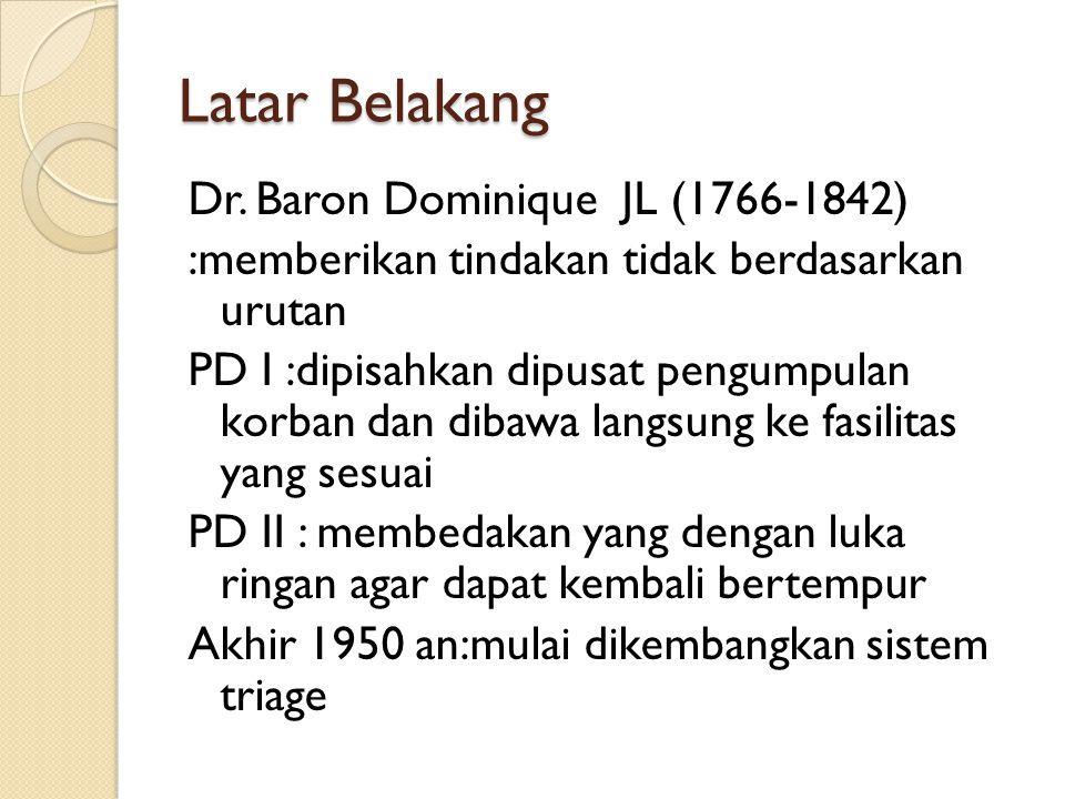 Latar Belakang Dr.