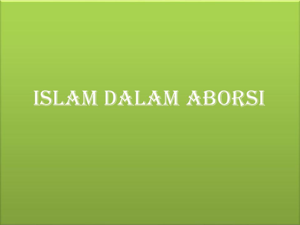 Islam dalam aborsi