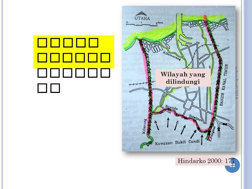 suhardjon0 2014 22 Kanal banjir Semara ng Wilayah yang dilindungi Hindarko 2000: 177