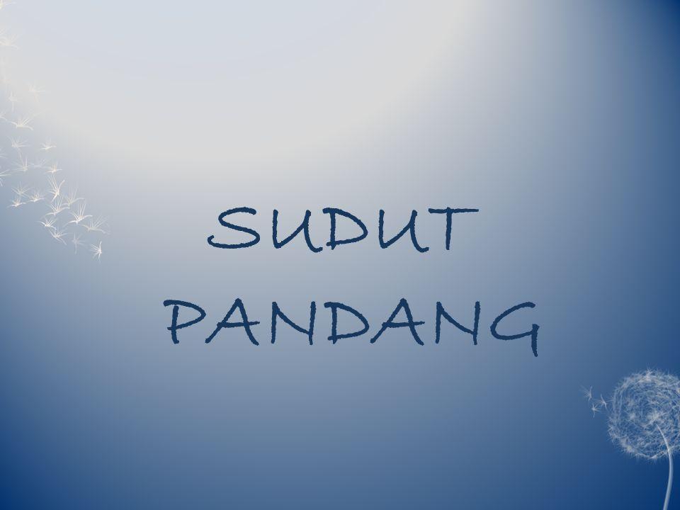 SUDUT PANDANG