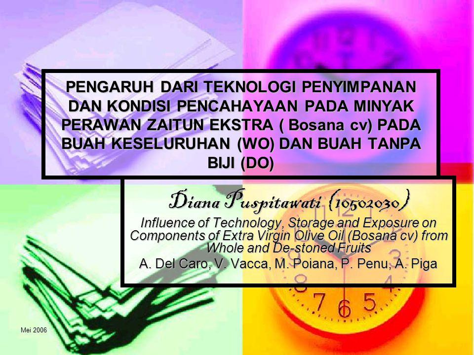 Mei 20062/13 Agenda Latar belakang Latar belakang Metode penelitian Metode penelitian Hasil dan diskusi Hasil dan diskusi Kesimpulan Kesimpulan