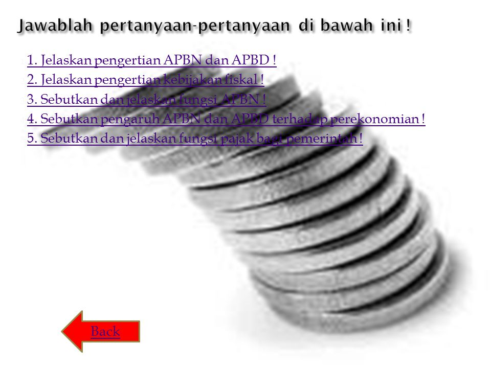 1.1. Jelaskan pengertian APBN dan APBD . 1. Jelaskan pengertian APBN dan APBD .