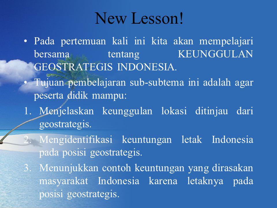 New Lesson.