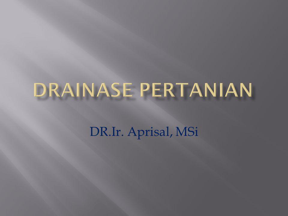 DR.Ir. Aprisal, MSi