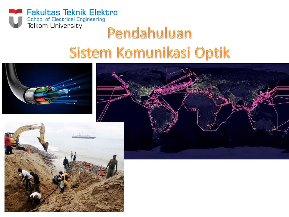 Diagram Blok Sistem Komunikasi Optik