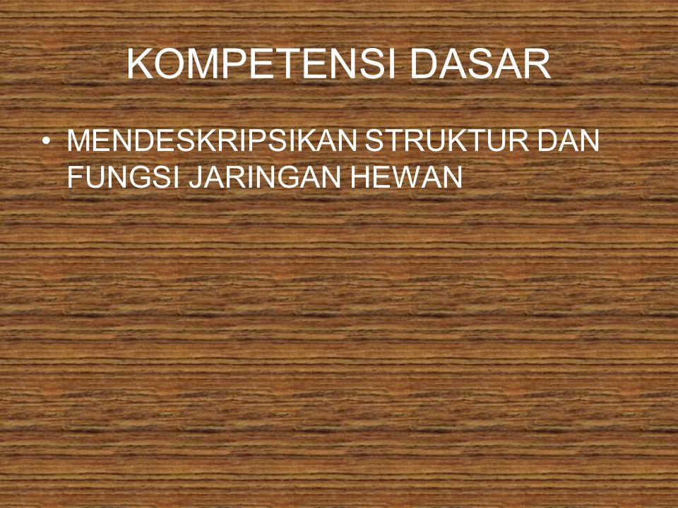 JARINGAN HEWAN