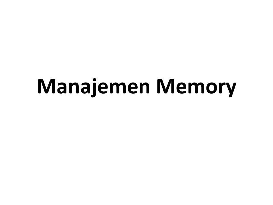 Hierarki Organisasi Memory Register Cache Memory Main Memory Secondary Memory