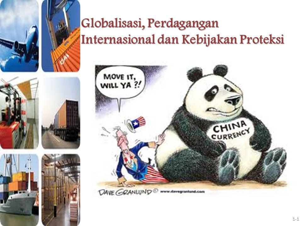 Tanda-Tanda GLOBALISASI Meningkatnya perdagangan GLOBAL Meningkatnya aliran modal internasional, diantaranya investasi langsung luar negeri.