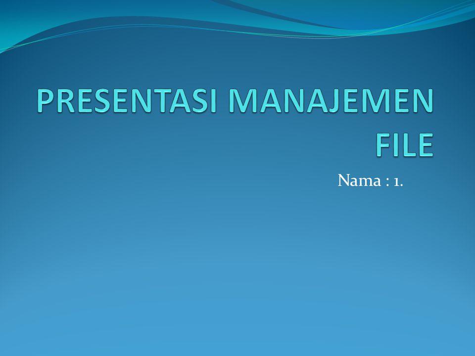 DAFTAR ISI Konsep File Sistem File Metode Akses File Struktur Dir File System Mounting Proteksi Konsep Dasar Implementasi Sistem File
