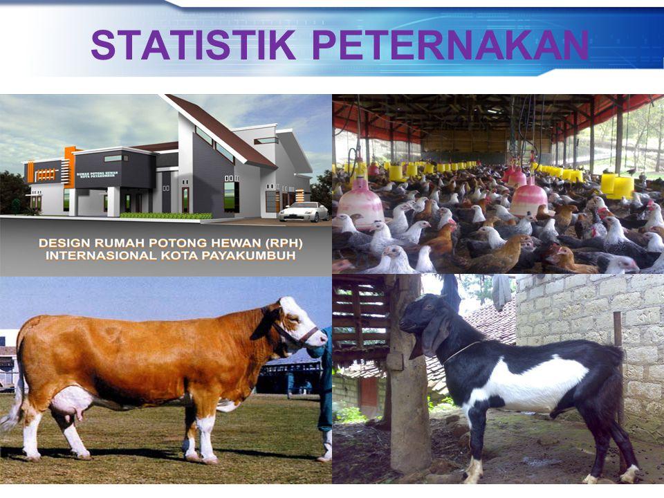 Direktorat Statistik Peternakan, Perikanan, dan Kehutanan BADAN PUSAT STATISTIK STATISTIK PETERNAKAN
