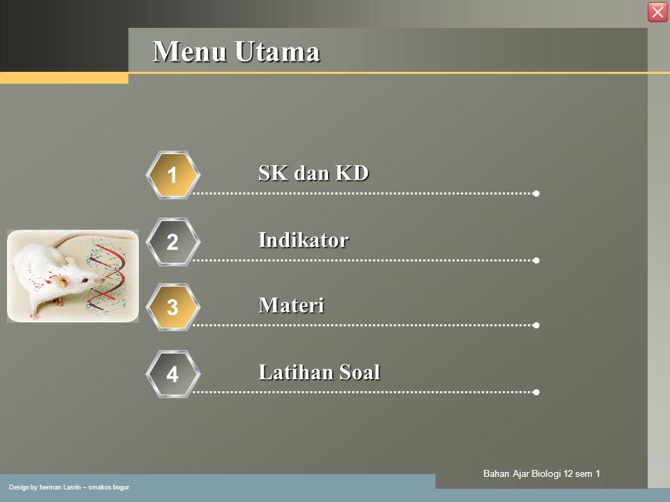 Design by herman Lasrin – smakos bogor Bahan Ajar Biologi 12 sem 1 Macam-macam Mutagen Mutagen dibagi dalam 3 golongan: 1.