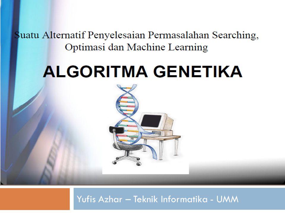 Overview  Introduction GA  Komponen-komponen GA  Contoh Aplikasi AG  Kesimpulan