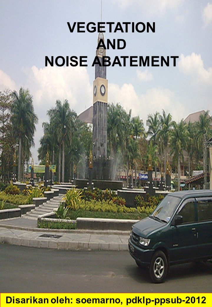Noise can affect human health and well-being.
