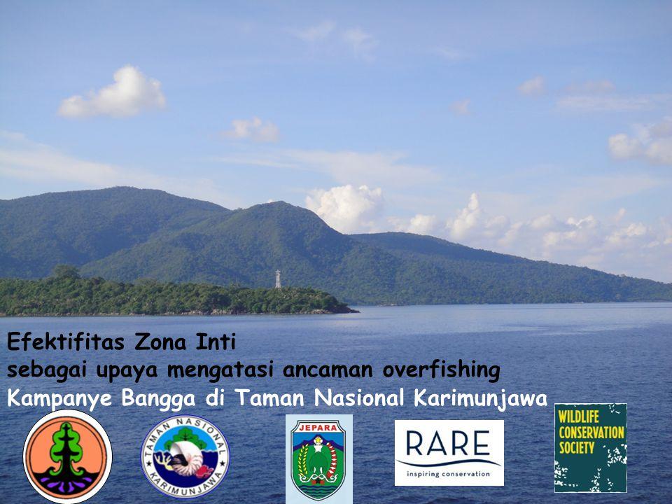 Yusuf Syaifudin, S. Bio PEH TN. Karimunjawa Kampanye Bangga di Taman Nasional Karimunjawa Efektifitas Zona Inti sebagai upaya mengatasi ancaman overfi