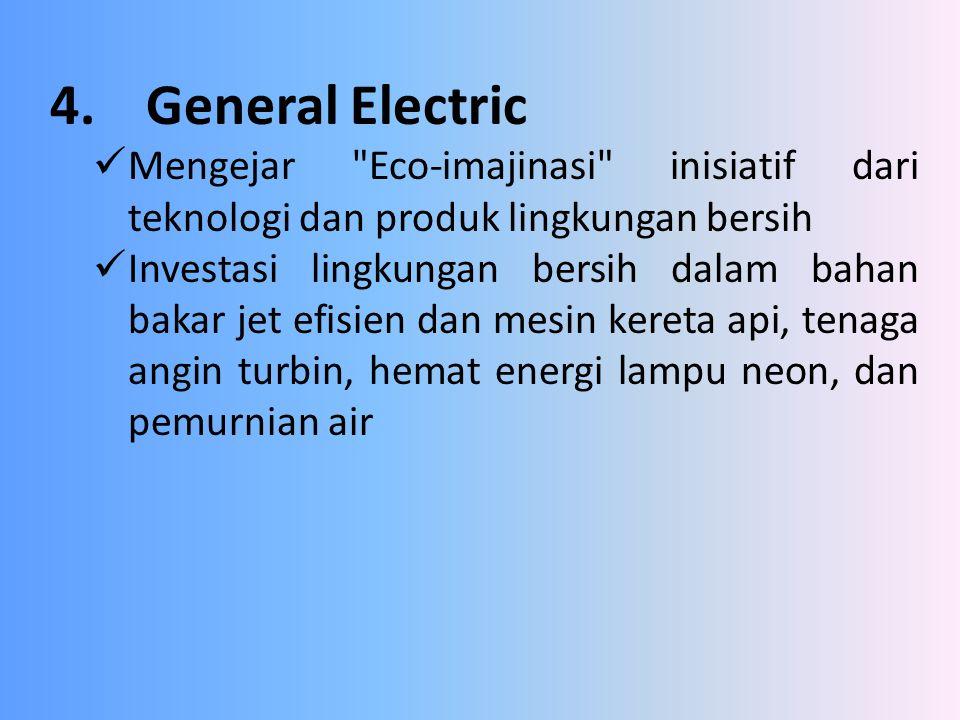 4.General Electric Mengejar
