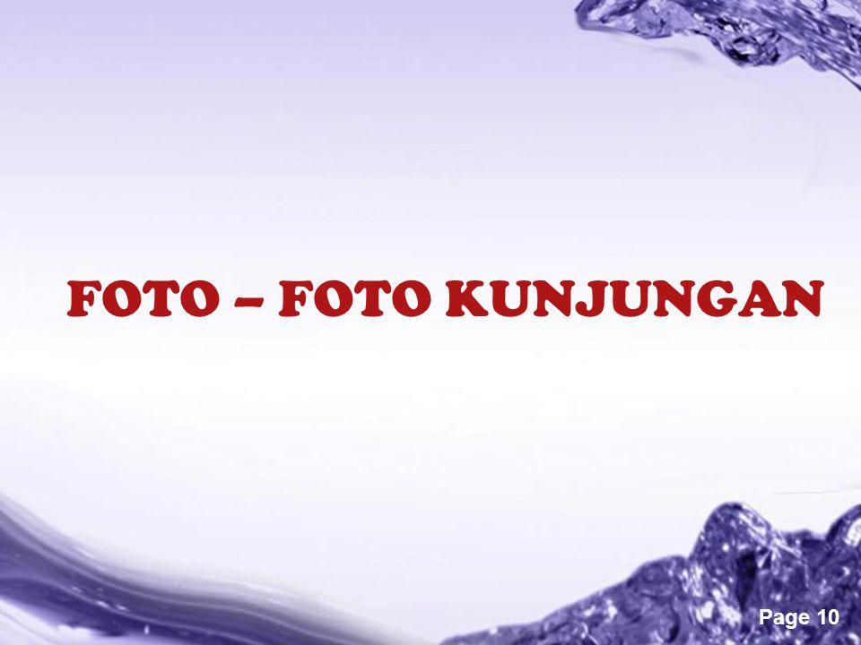 Powerpoint Templates Page 10 FOTO – FOTO KUNJUNGAN