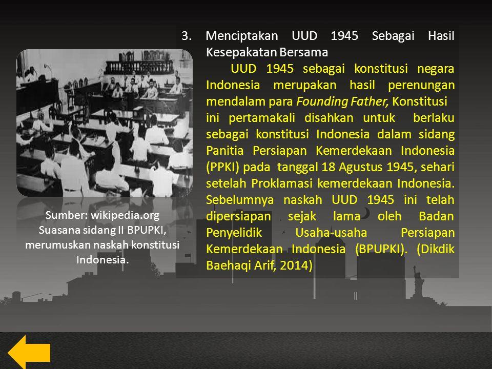 B.Kesadaran Berbangsa dan Bernegara Kesatuan dalam Konteks Sejarah 1.