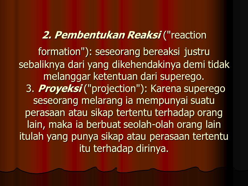 2. Pembentukan Reaksi (
