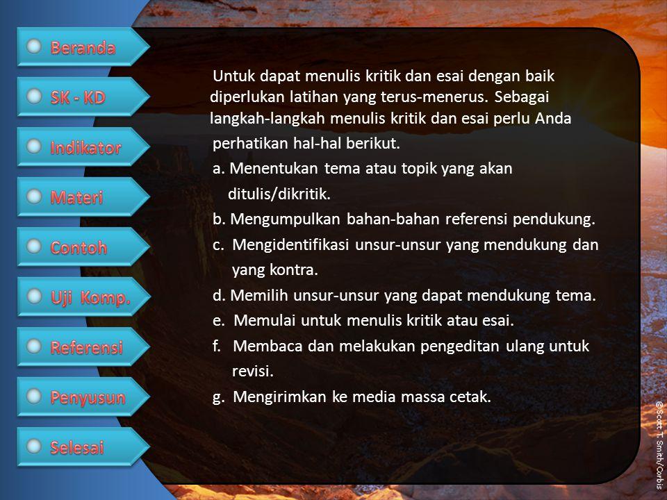 Selain langkah-langkah di atas, secara konkret Anda dapat mengikuti langkah-langkah berikut ini.
